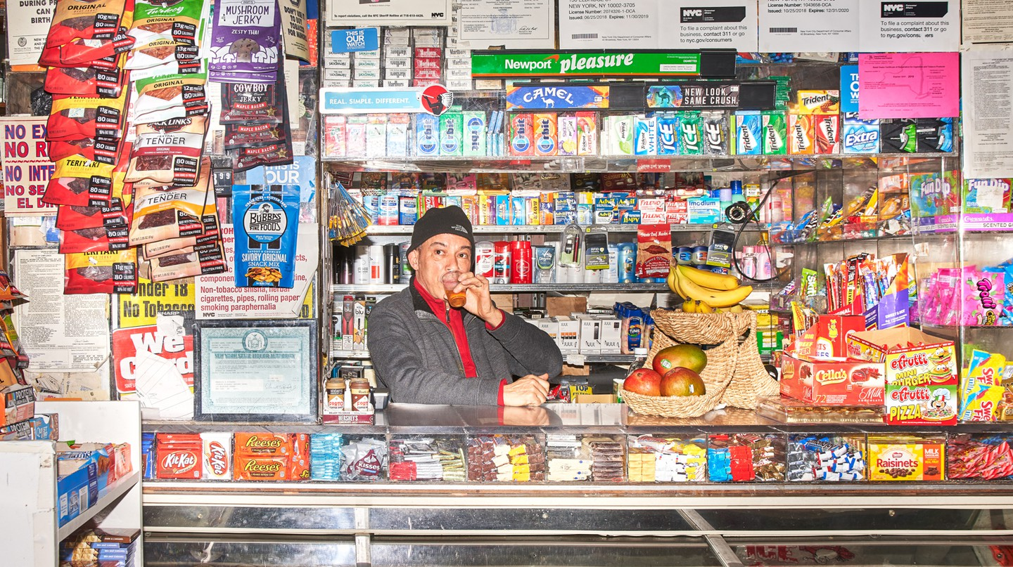 The Chinese Hispanic Grocery is on the Lower East Side