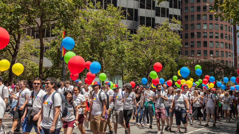 Pride Celebration, San Francisco