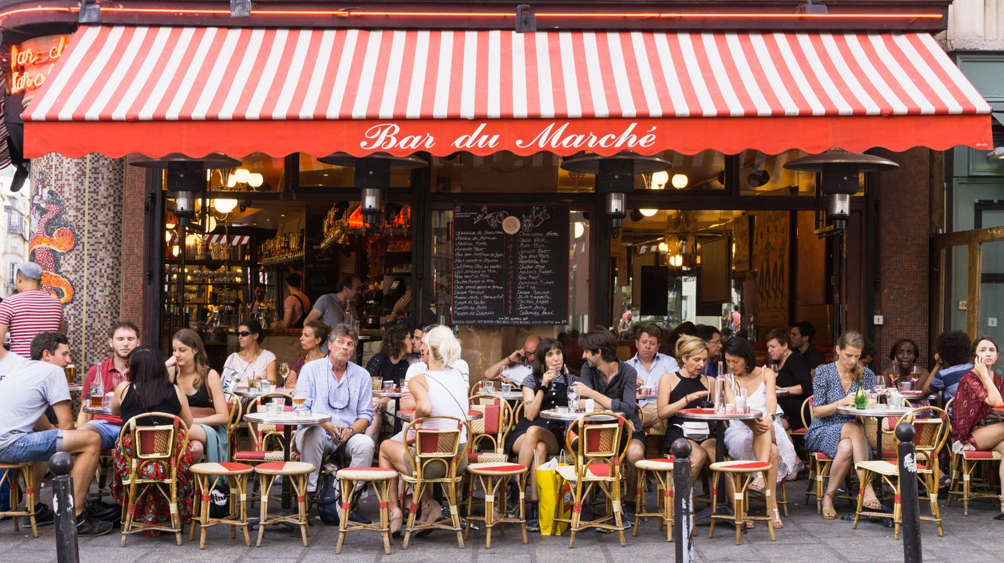 Saint-Germain is one of the Paris's most sophisticated arrondissements