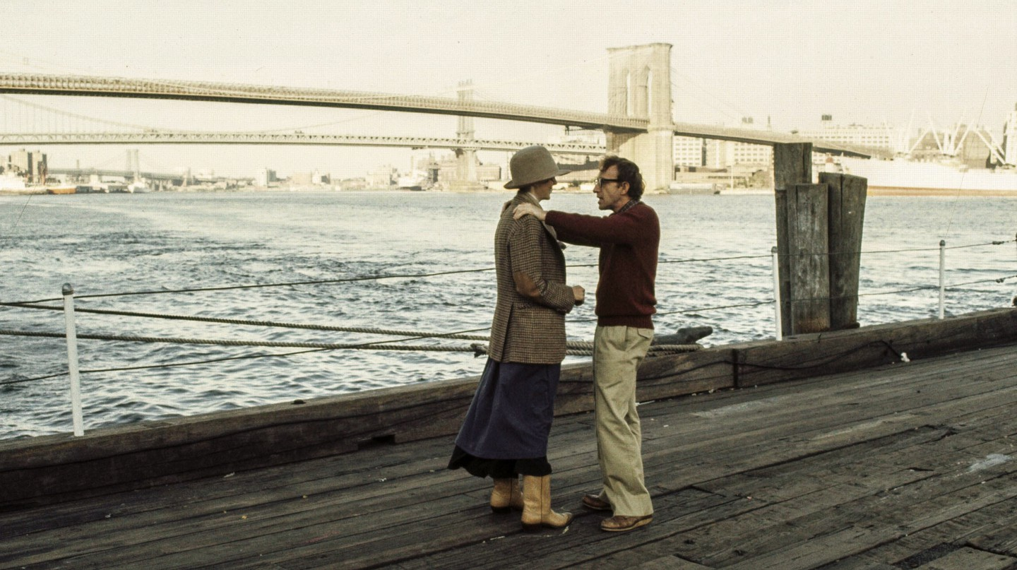 Diane Keaton and Woody Allen in 'Annie Hall' (1977)