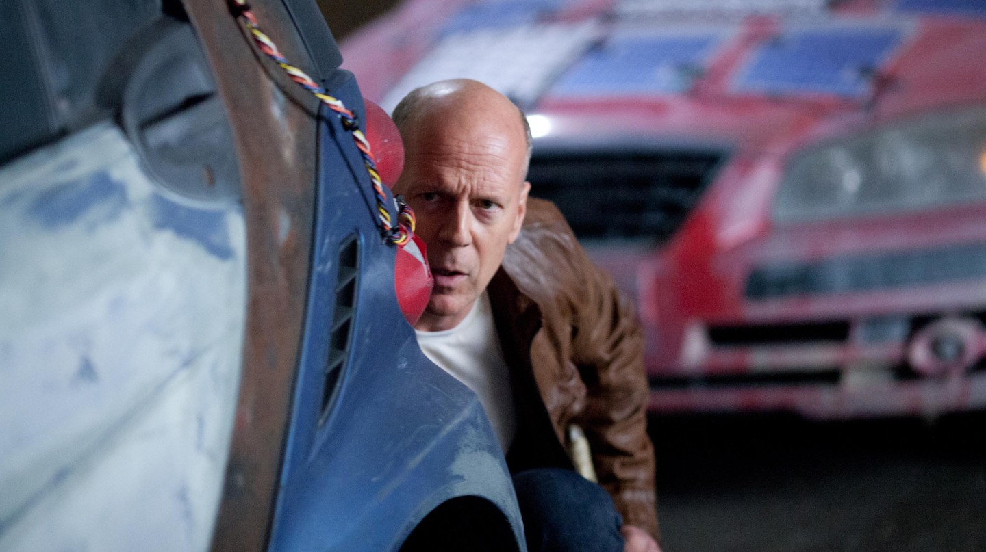 Bruce Willis in Looper, 2012