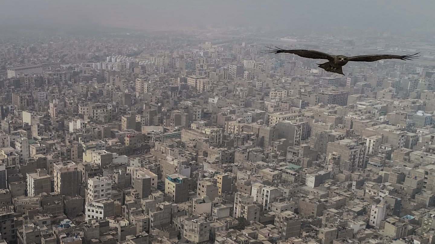 A bird's-eye view of Karachi. From the 'Beyond Hollywood' series, 2019