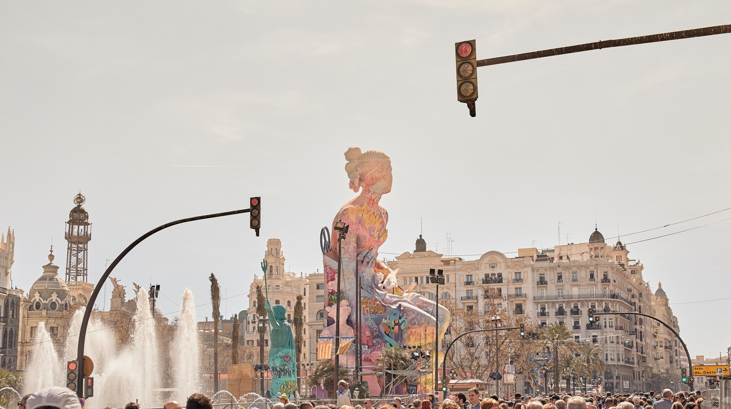 Las Fallas celebrates the arrival of spring