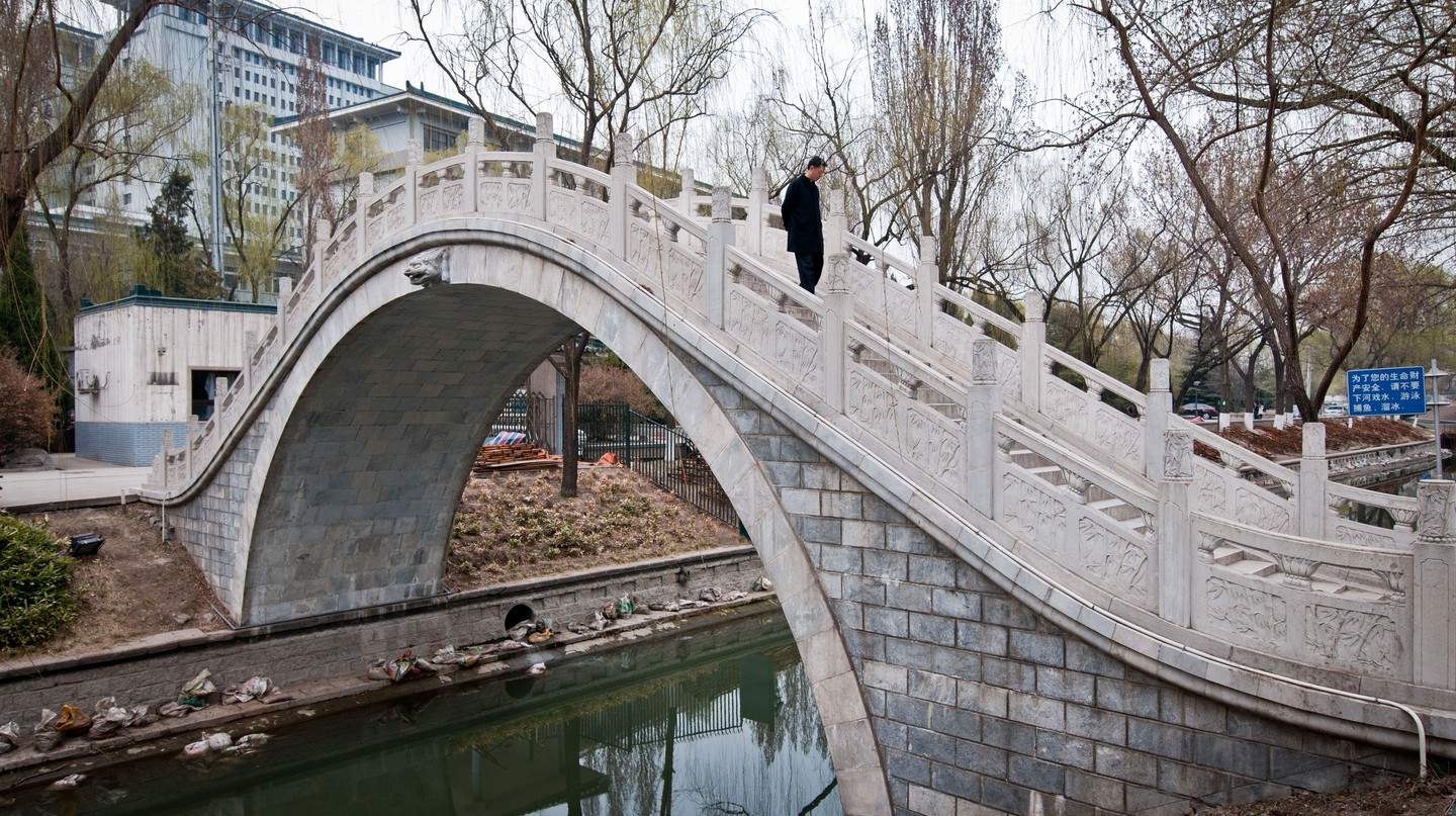 It doesn't cost anything to stroll through Zizhuyuan Park