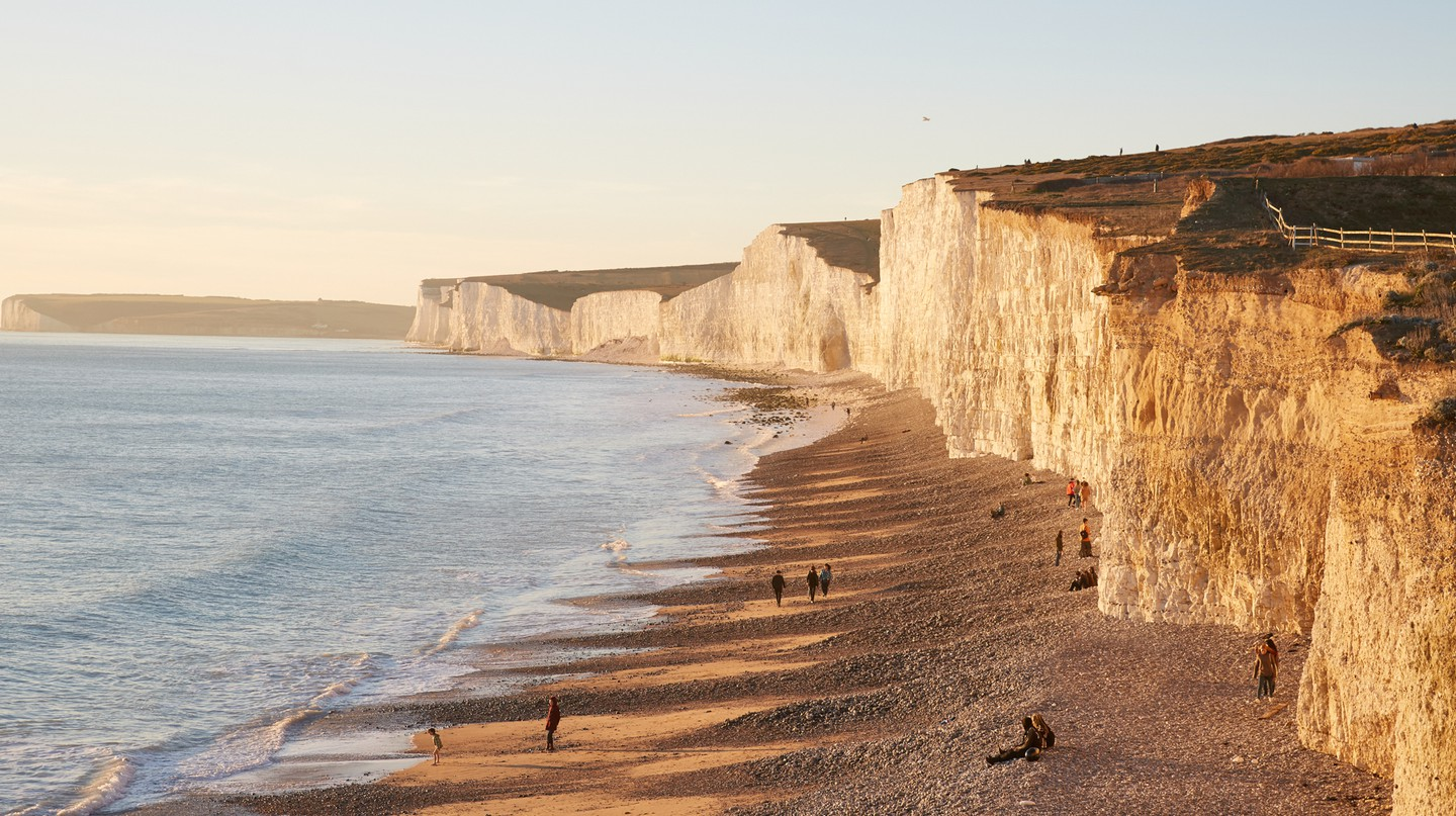 Eastbourne has some of the most impressive cliffs in Europe