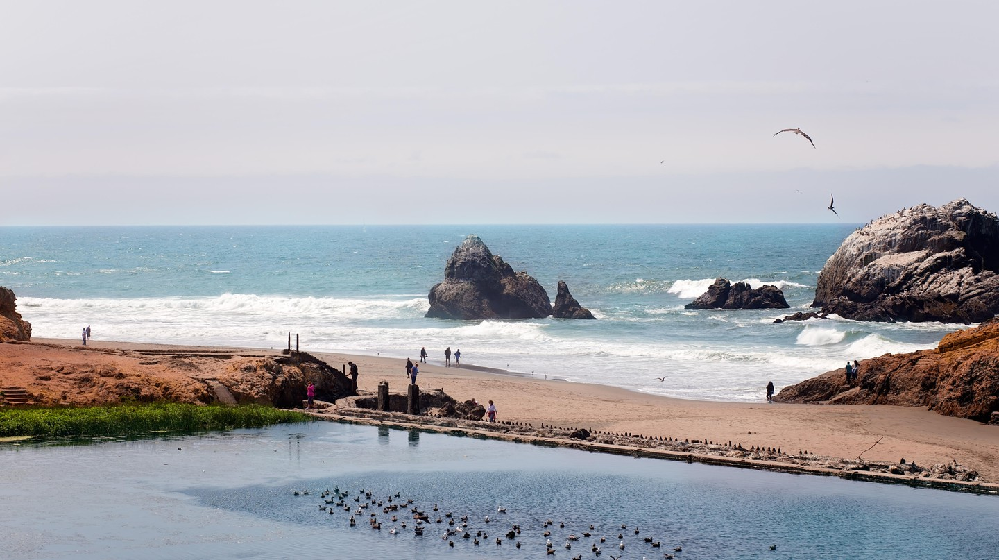Spend time at Ocean Beach on your visit to San Francisco