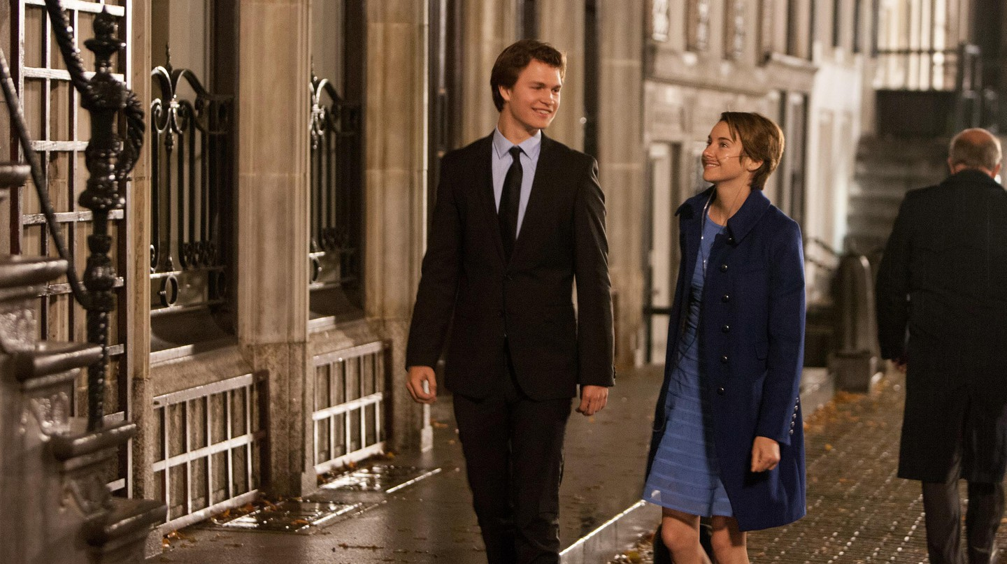Ansel Elgort and Shailene Woodley star in 'The Fault in Our Stars' (2014)