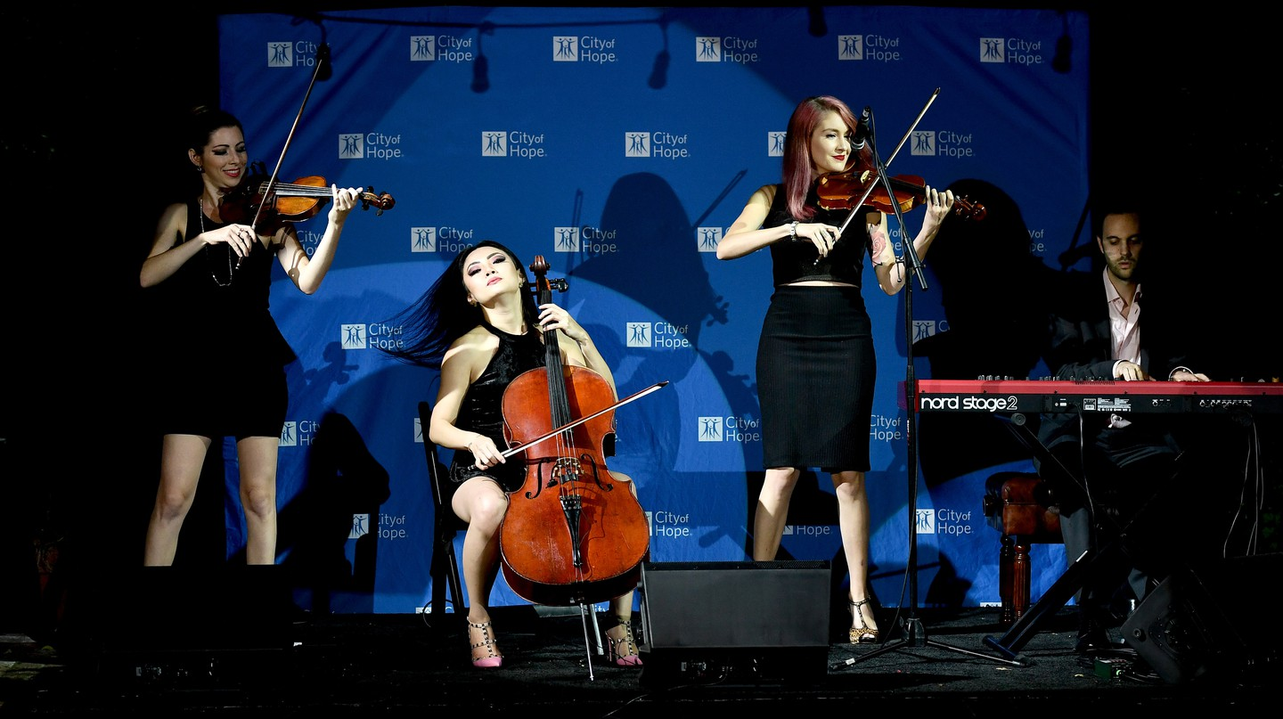 Cellist and erhuist Tina Guo was born in Shanghai