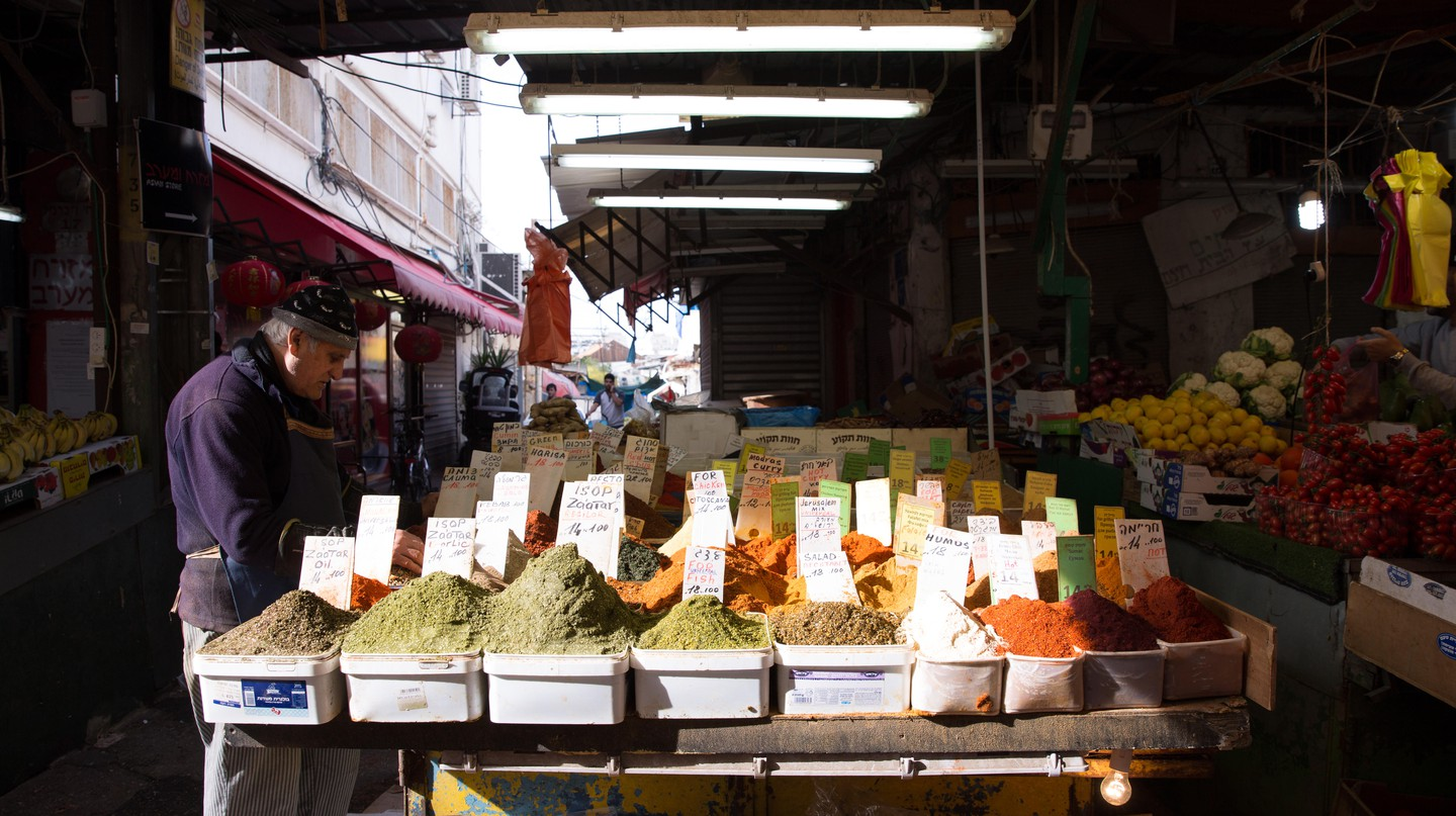 Tel Aviv's Shuk HaCarmel (Carmel Market) offers a little bit of everything