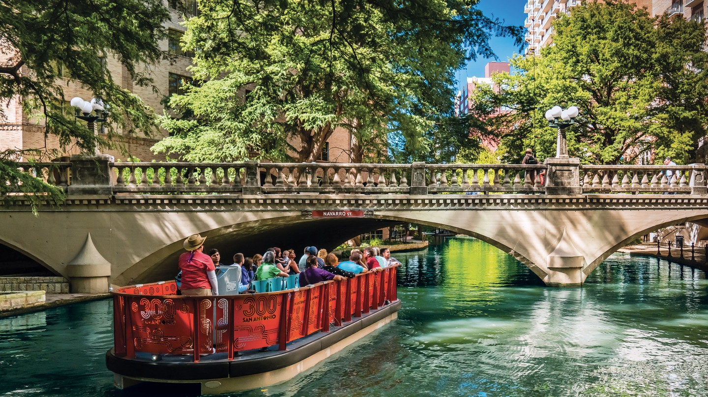 The San Antonio river tours are a great way to see the city