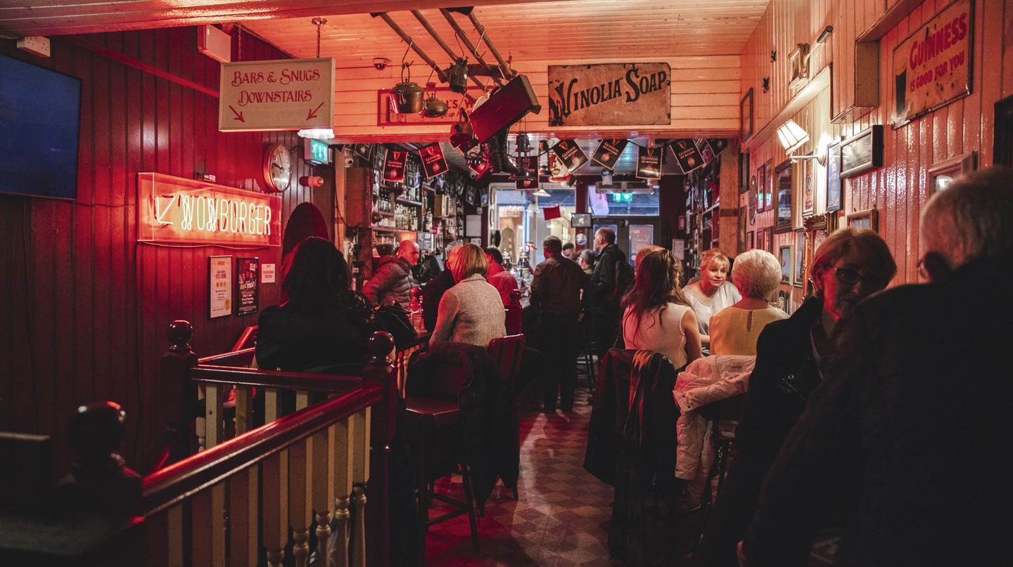 Mary's Bar and Hardware is a multi-purpose pub in the centre of Dublin