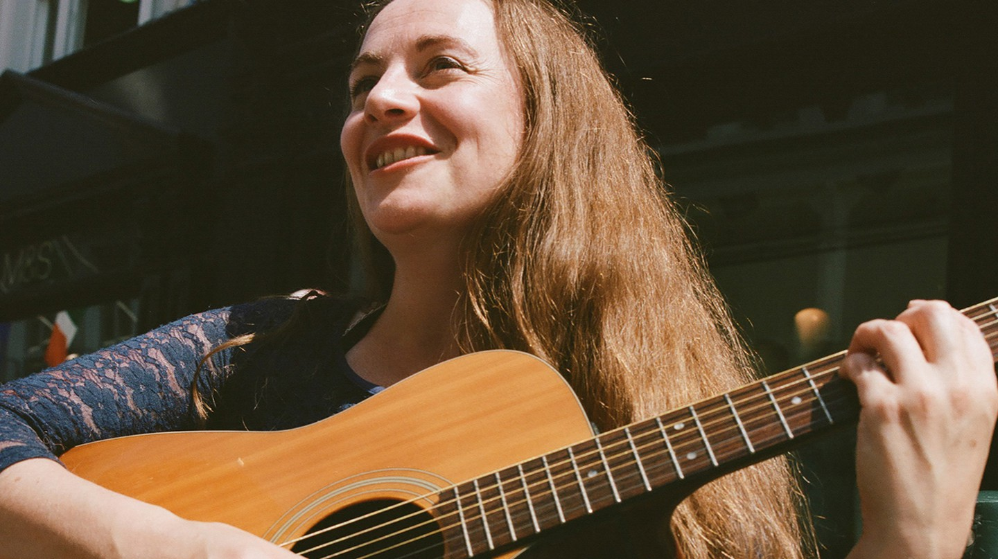 Grafton Street in Dublin is brimming with talented buskers, including Marie Keane