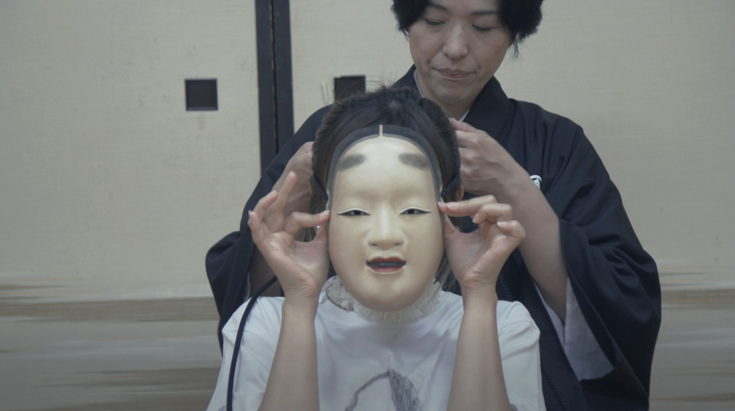 There are hundreds of types of Noh masks