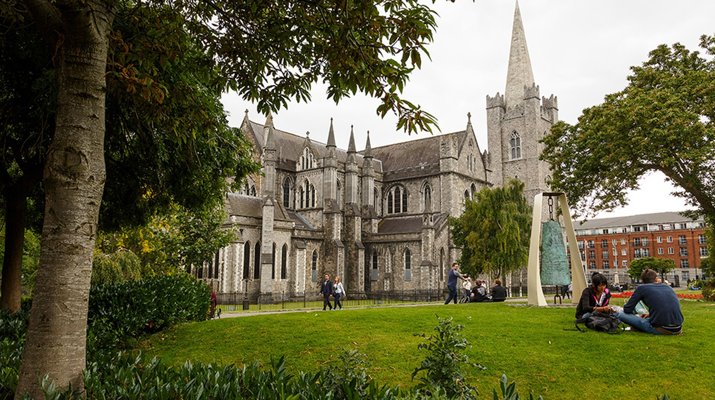 Dublin is an ideal city to explore on foot
