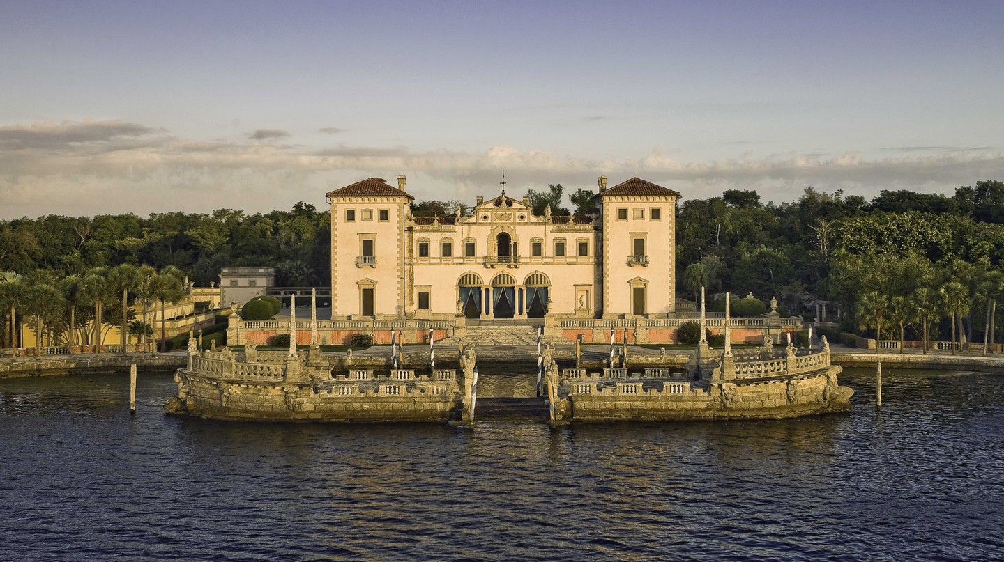 Vizcaya Museum and Gardens is one of Miami's best museums