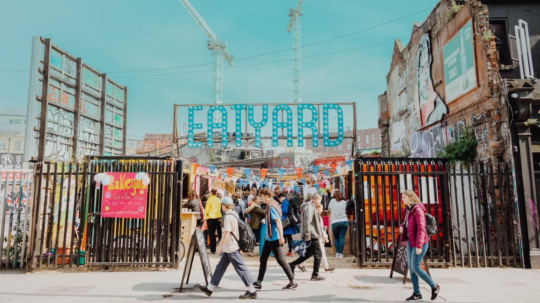 Head to Eatyard for first-class street food