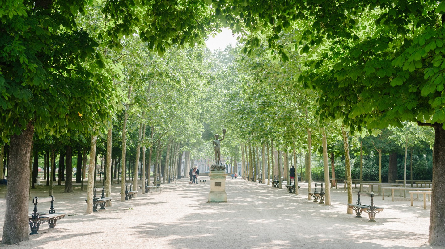 From the Renaissance to today, philosophy has influenced the design of Paris's green spaces