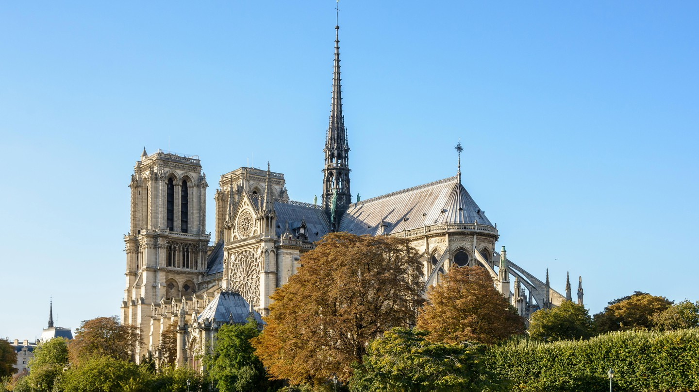Notre-Dame de Paris is a Gothic masterpiece