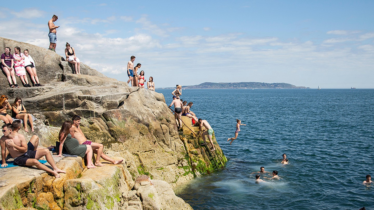 Spend a day by the sea in Sandycove, Dublin