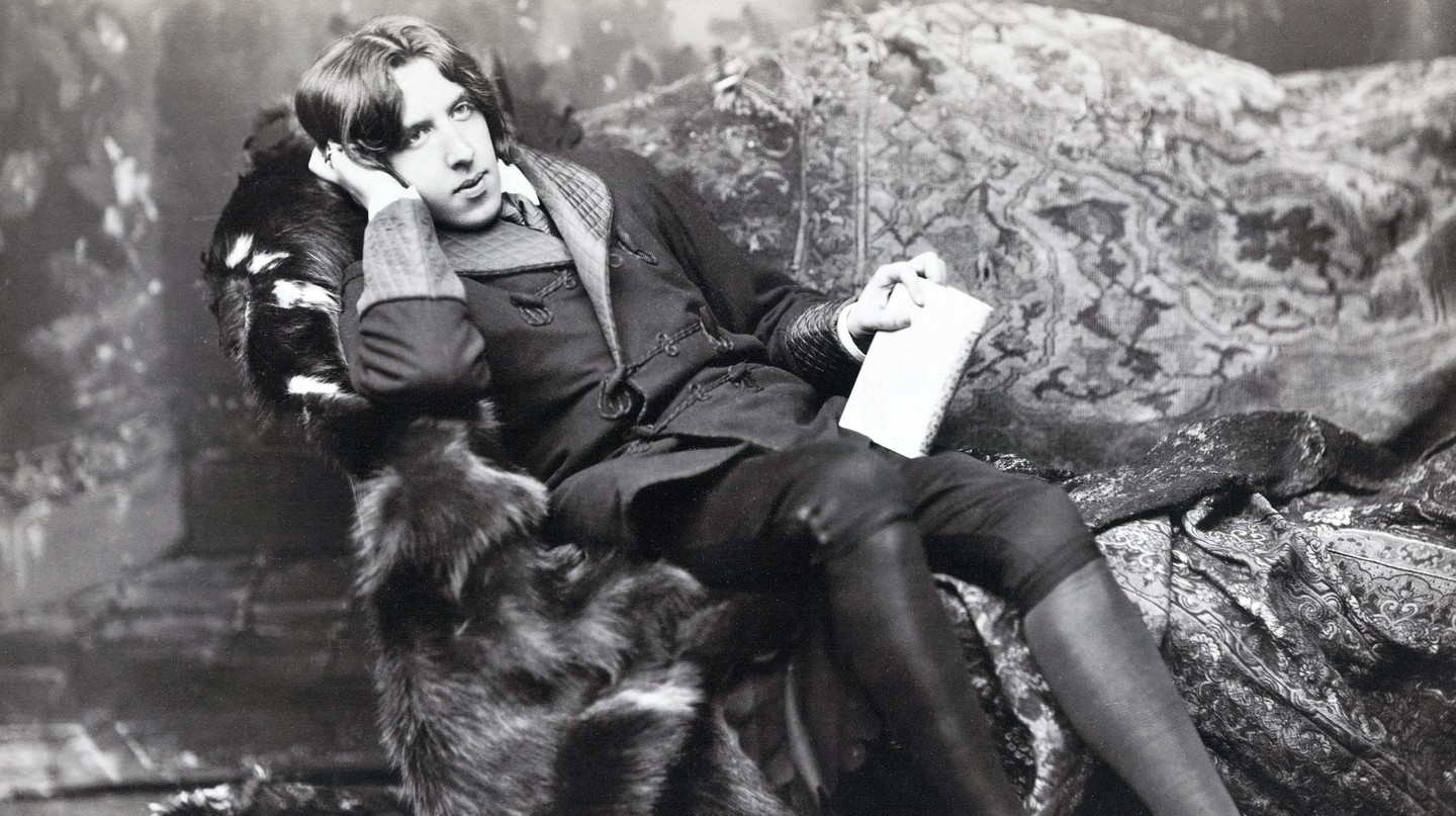Oscar Wilde moved to London in the late 1870s