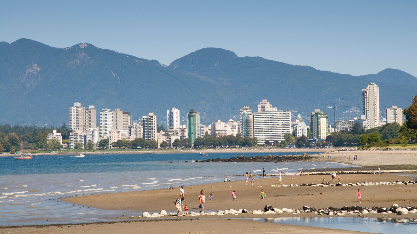 Kitsilano Beach is the perfect escape from downtown Vancouver
