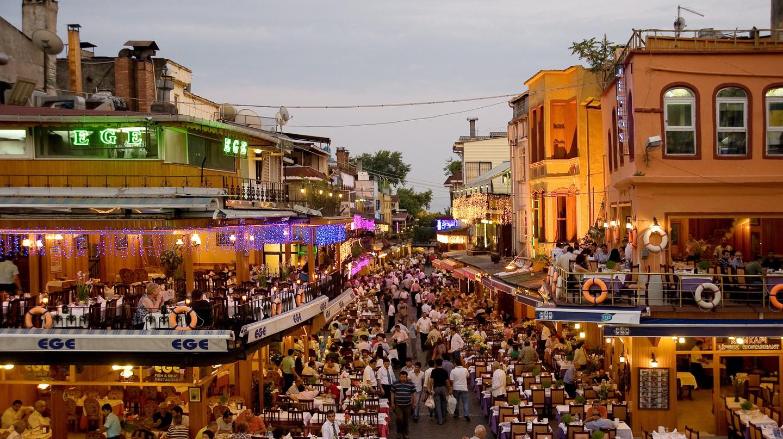 Restaurants in Kumkapi, Istanbul
