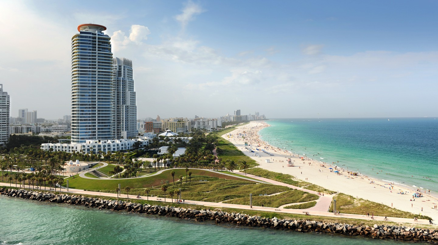 Miami is a metropolis with world-class accommodation
