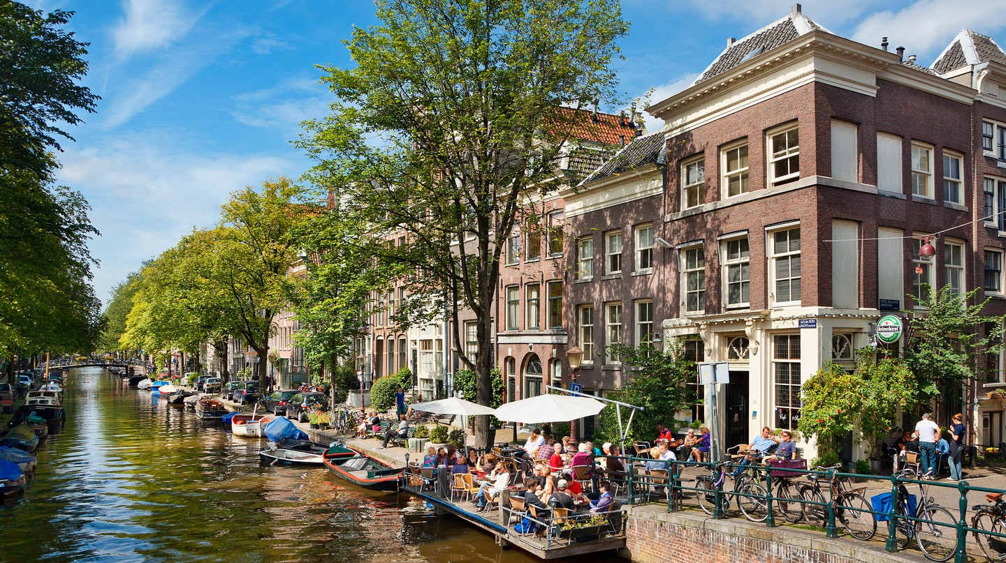 There are plenty of affordable ways to visit Amsterdam's charming canals