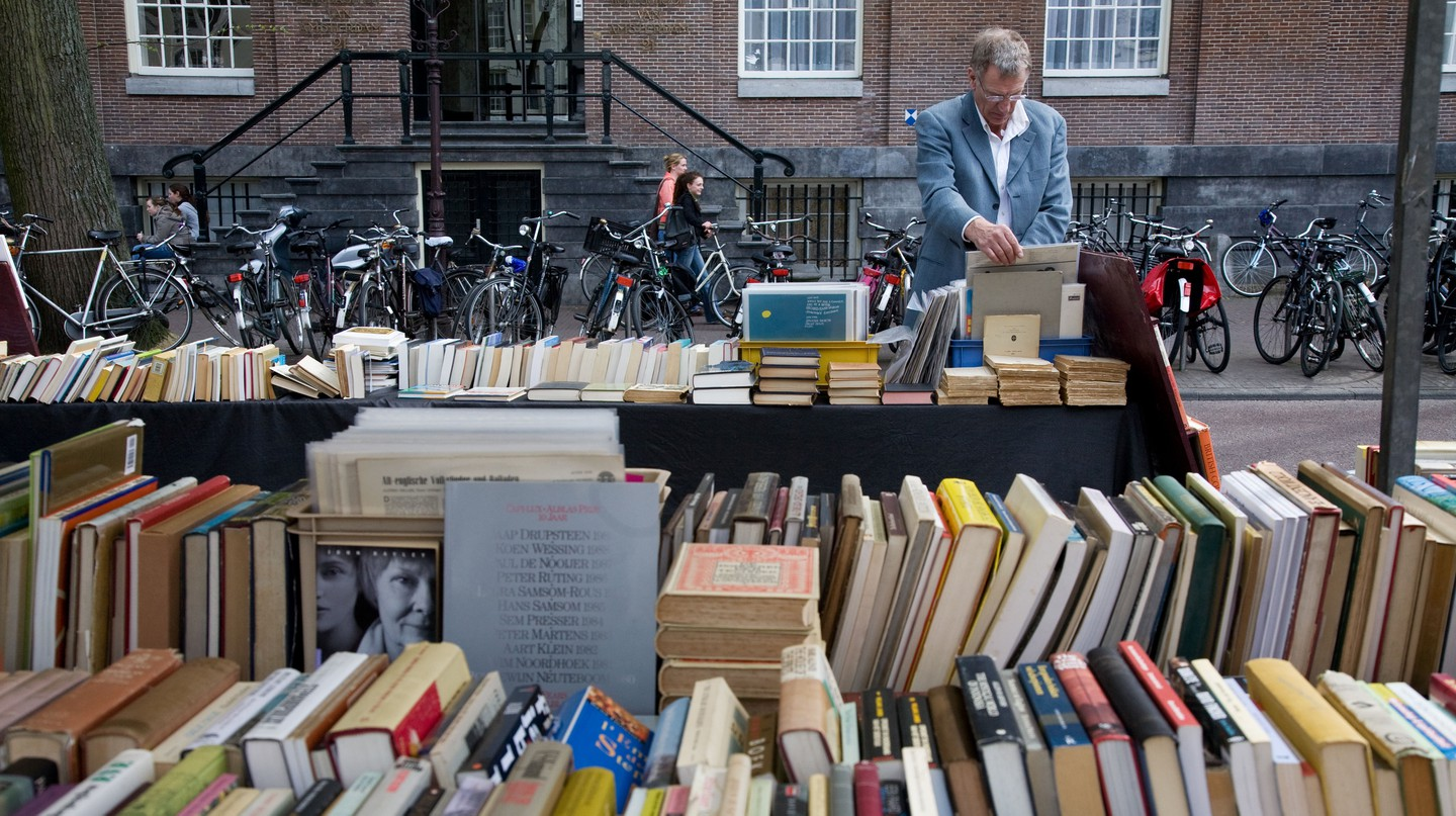 Book stalls in Amsterdam