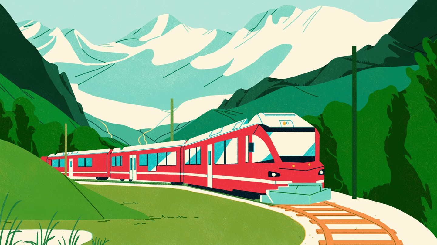 How To Explore Scenic Switzerland by Train