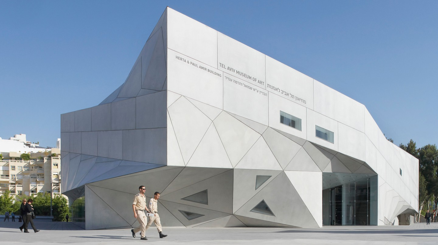 The Tel Aviv Museum of Art is Israel's leading art institution