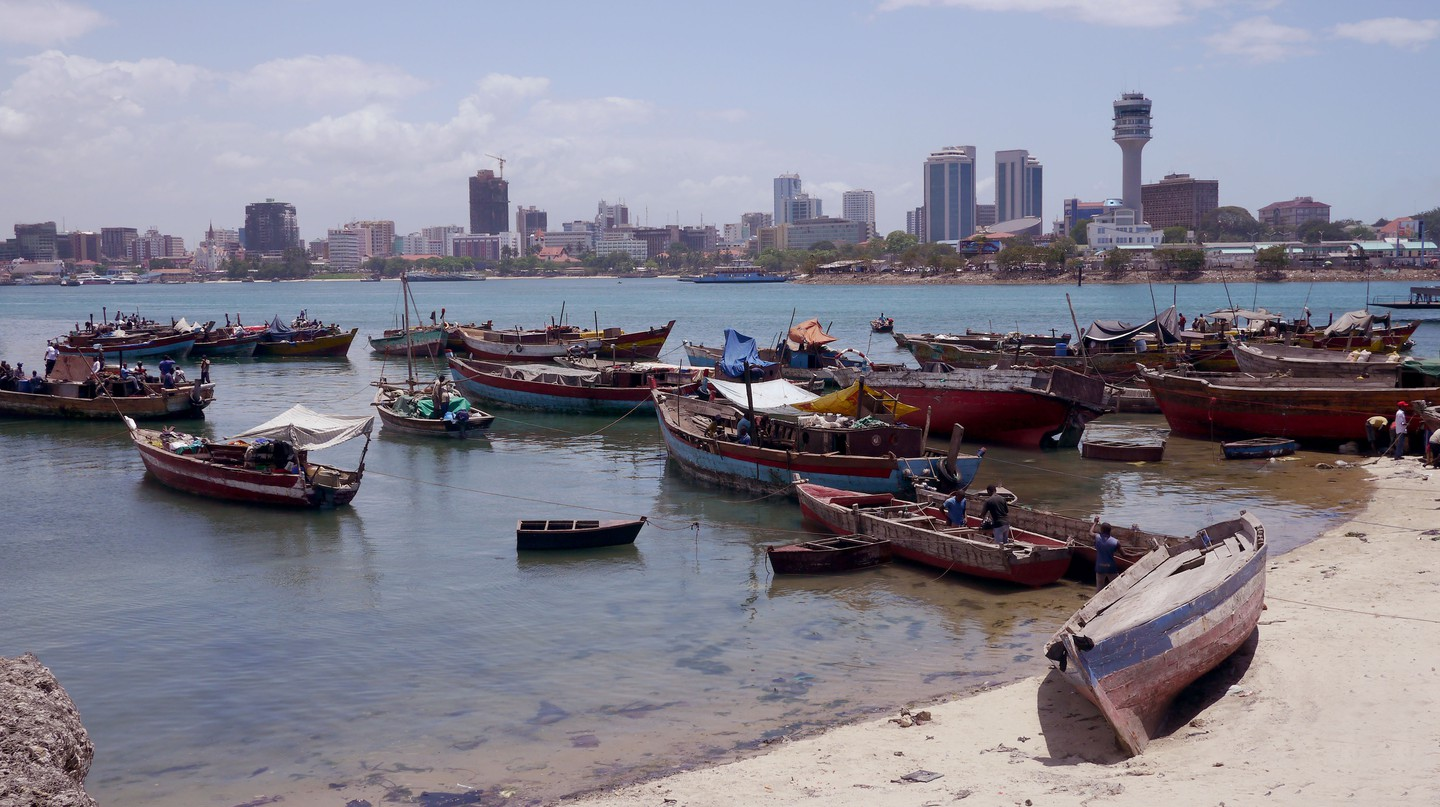 Dar es Salaam in Tanzania is nicknamed the City of Peace