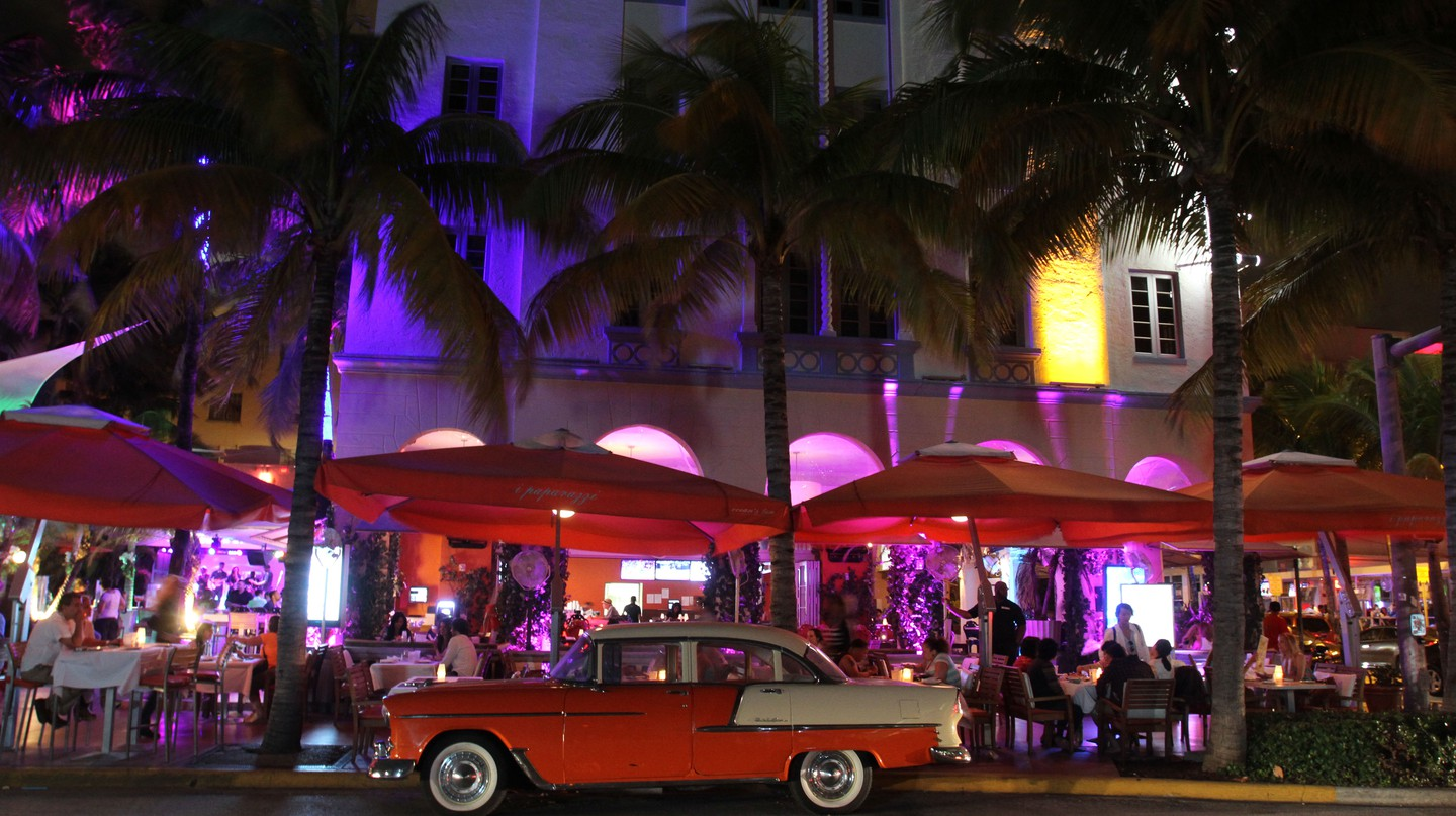 Party until the early hours on Miami Beach