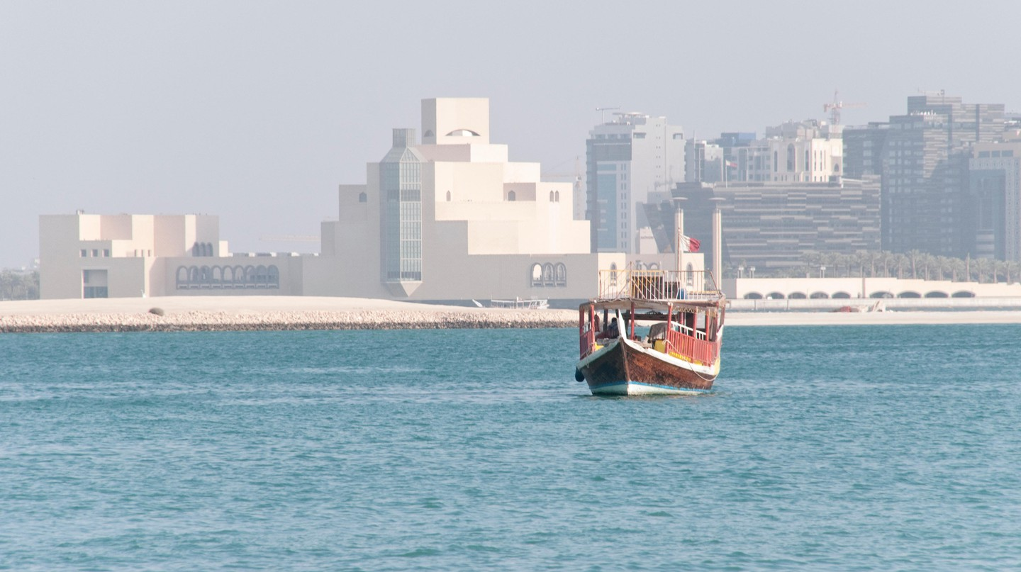 Doha's skyline is dotted with hotels