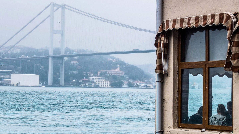 Dine beside the Bosporus Bridge in Istanbul