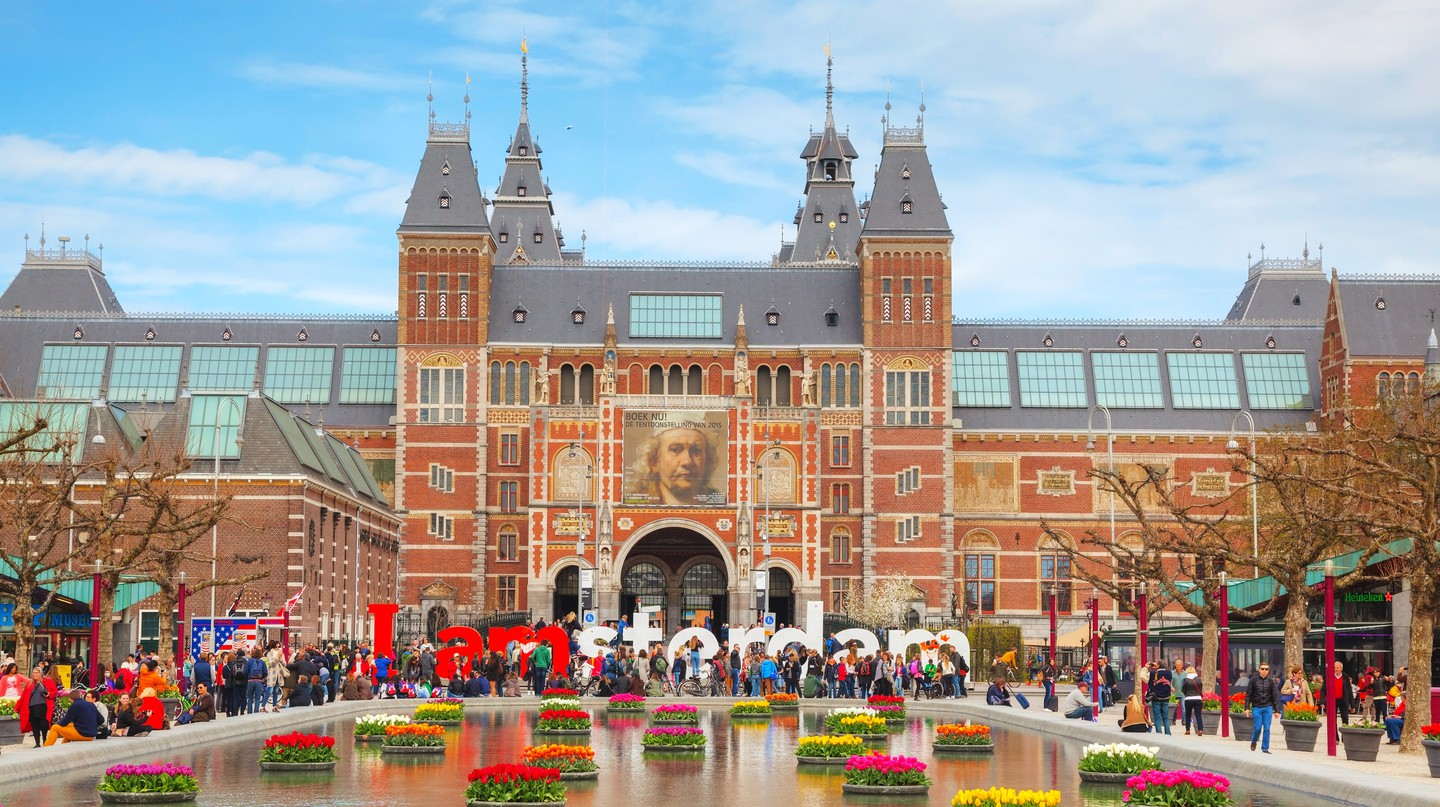 Amsterdam's Rijksmuseum holds many artistic treasures of the Dutch Golden Age