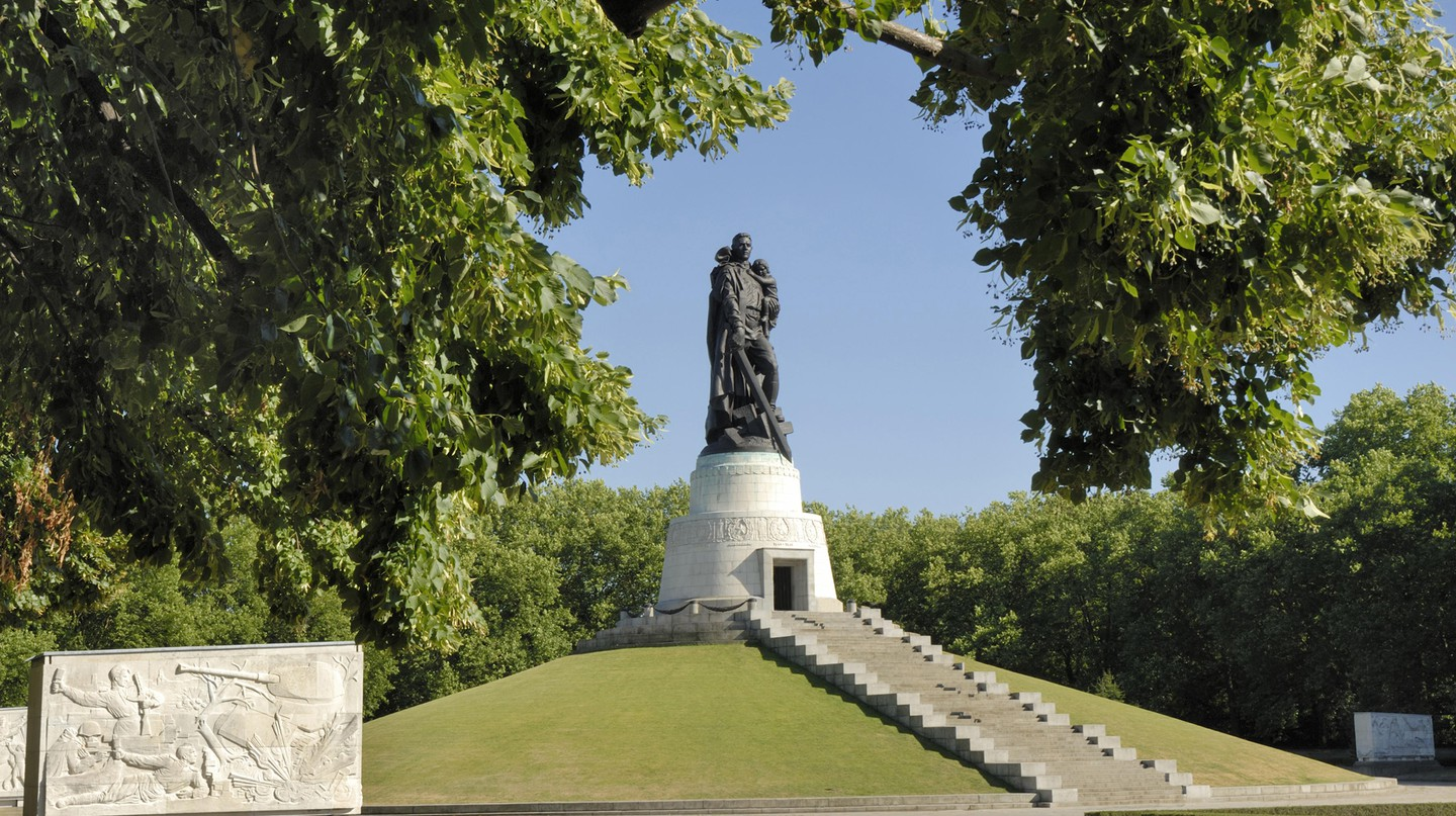 The imposing Soviet War Memorial in Treptower Park is just one of the out-of-the-ordinary attractions in the German capital
