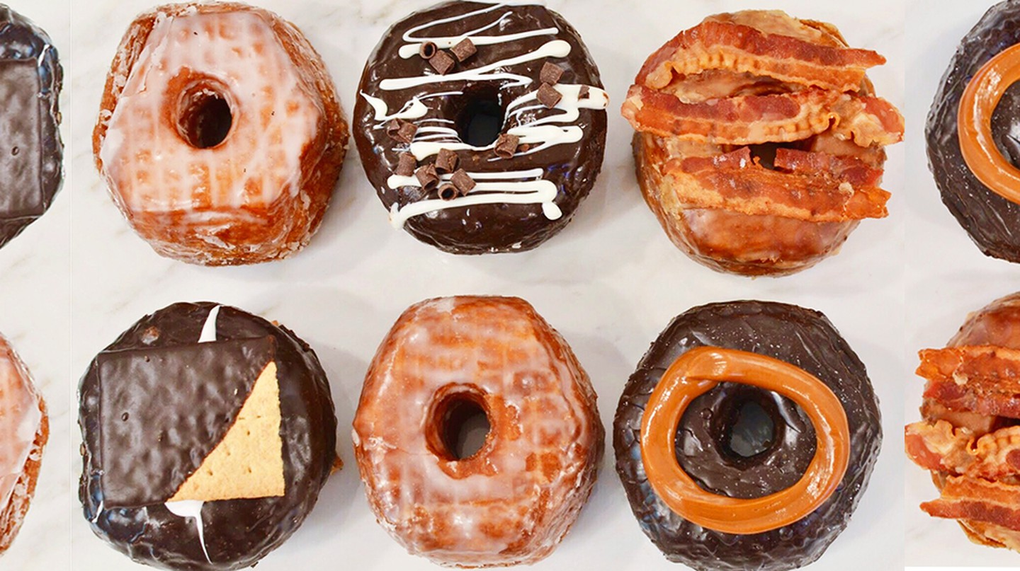 The Donut Pub makes a host of old-fashioned and newfangled donuts