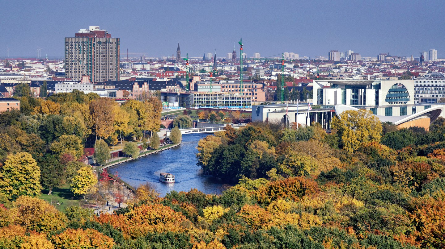 Embark on a boat tour along the River Spree