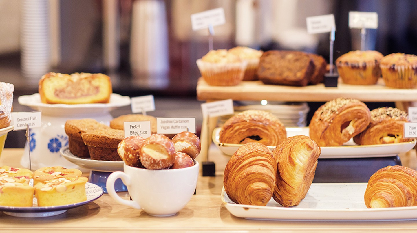 Revival Cafe + Kitchen has delicious pastries to accompany its artisanal coffees