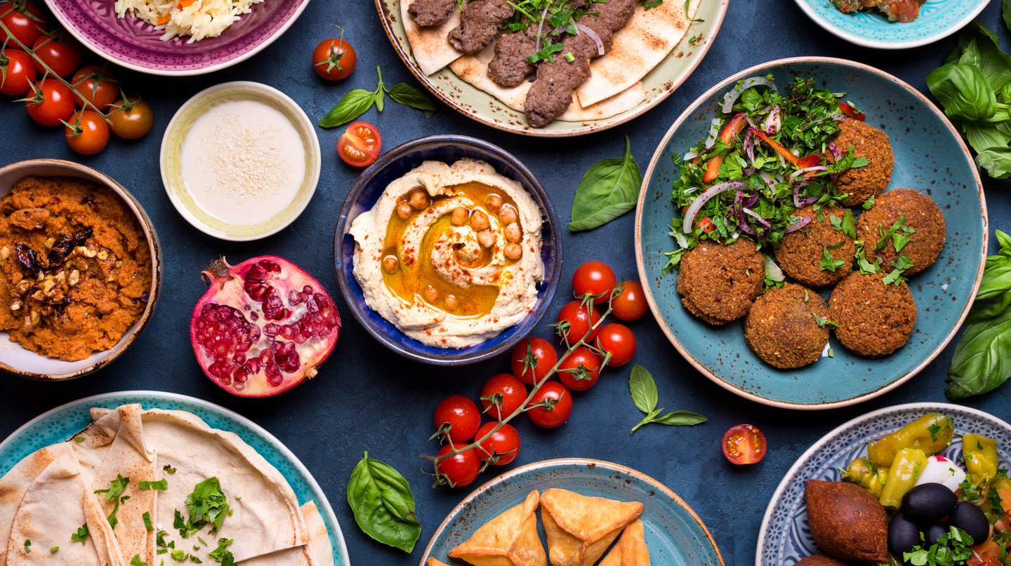 Middle Eastern cuisine brims with bold flavours