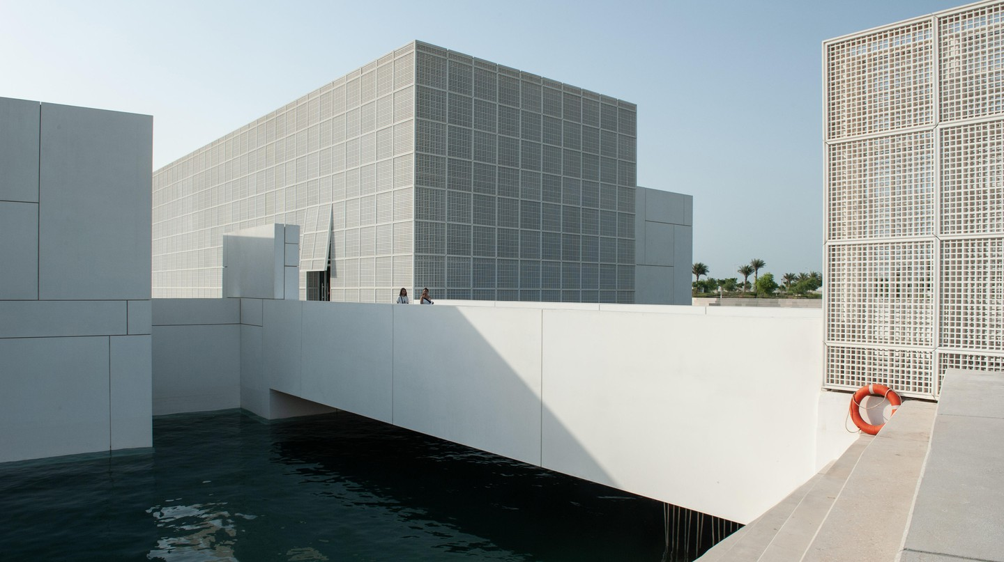 The Louvre Abu Dhabi aims to showcase the interconnectedness of different cultures