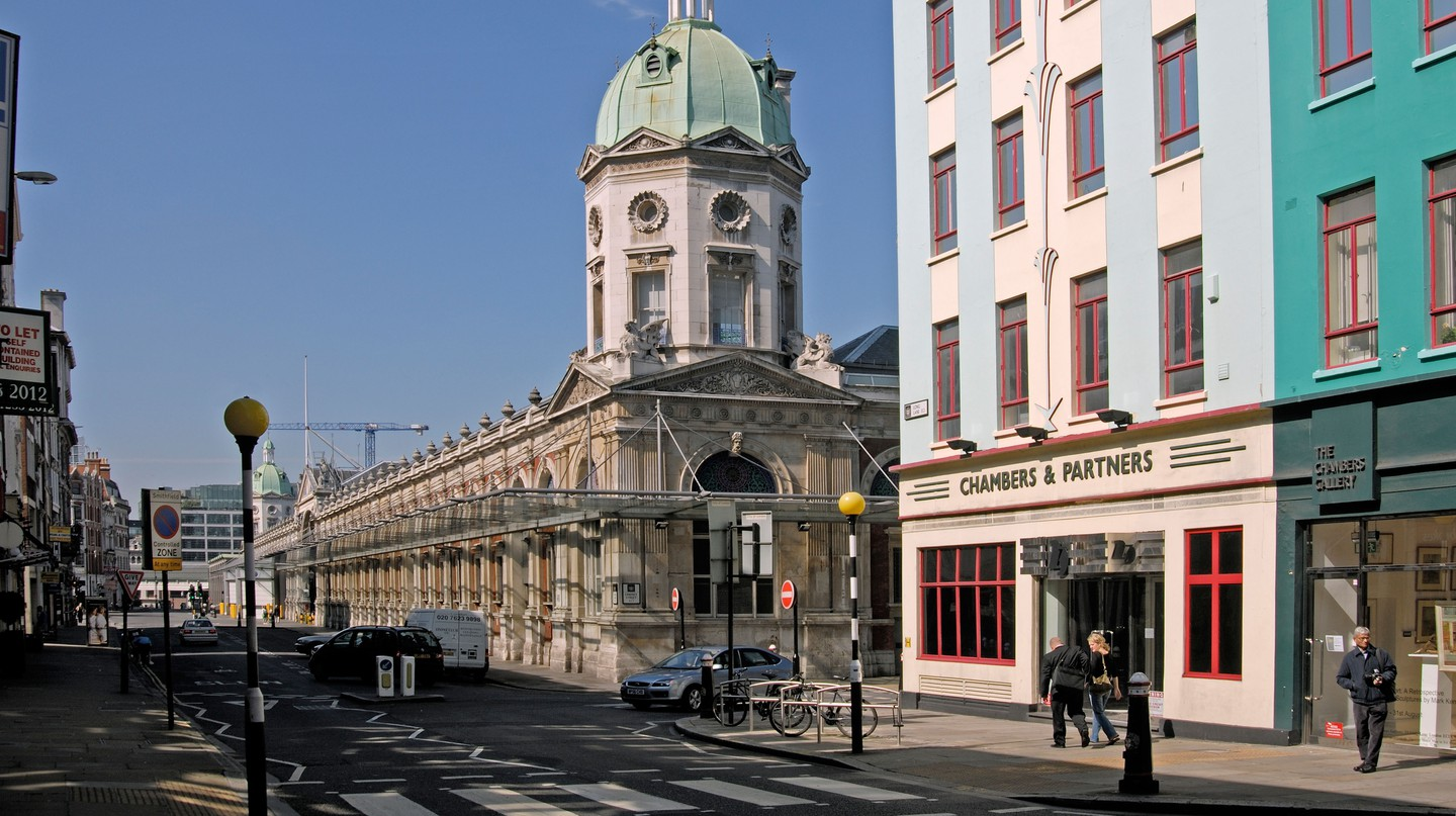 Smithfield Market is a popular attraction in Central London