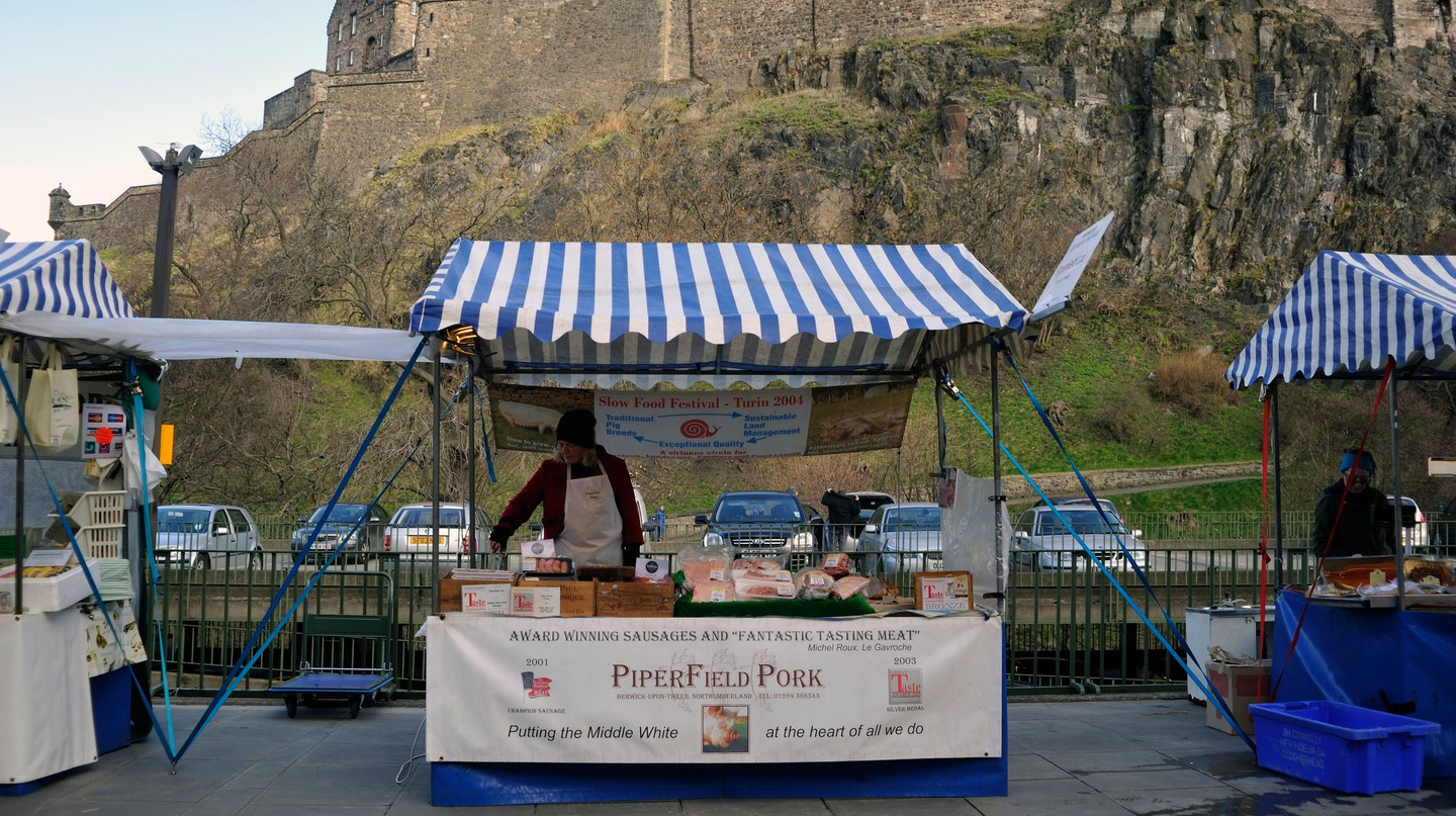 Edinburgh is home to some great markets