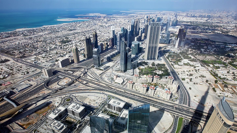 Dubai is a sprawling city with no true centre