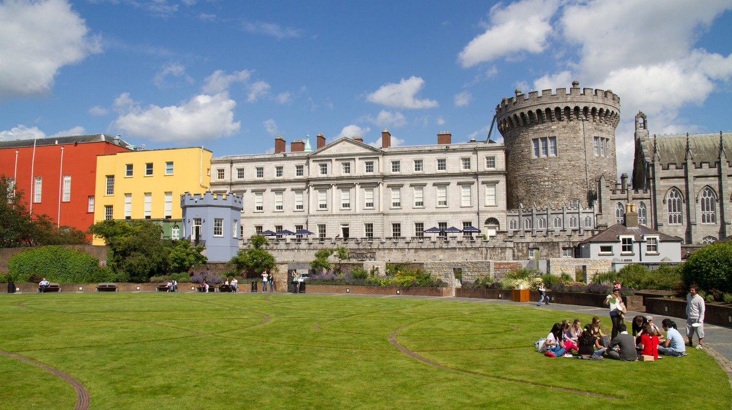 Explore Dublin Castle during your stay in the Irish capital