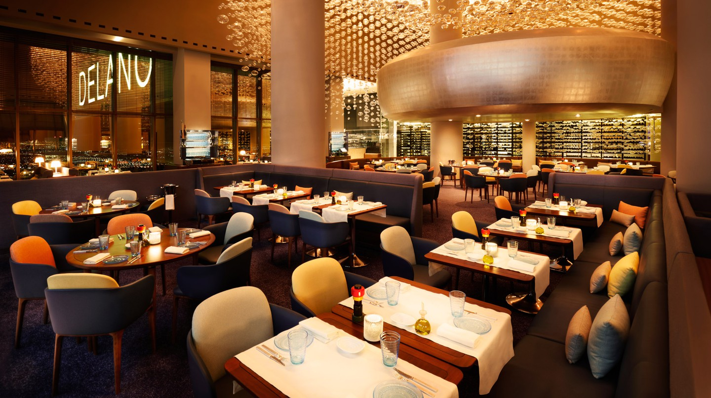 Las Vegas is brimming with fine-dining options, such as Rivea