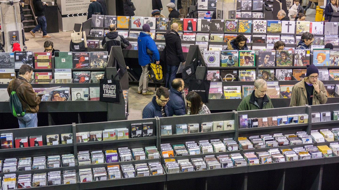 Head to Rough Trade NYC for vinyl and live music