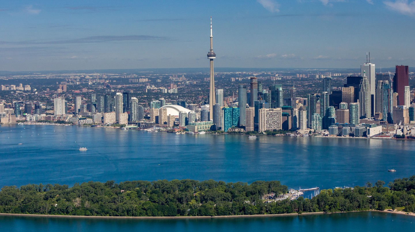Toronto is Canada's largest city