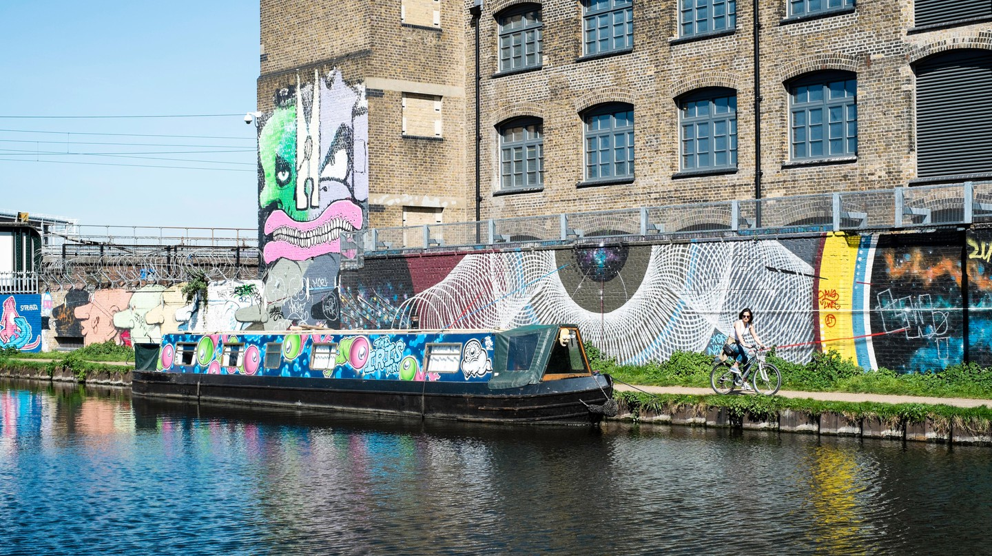 Hackney Wick, London.
